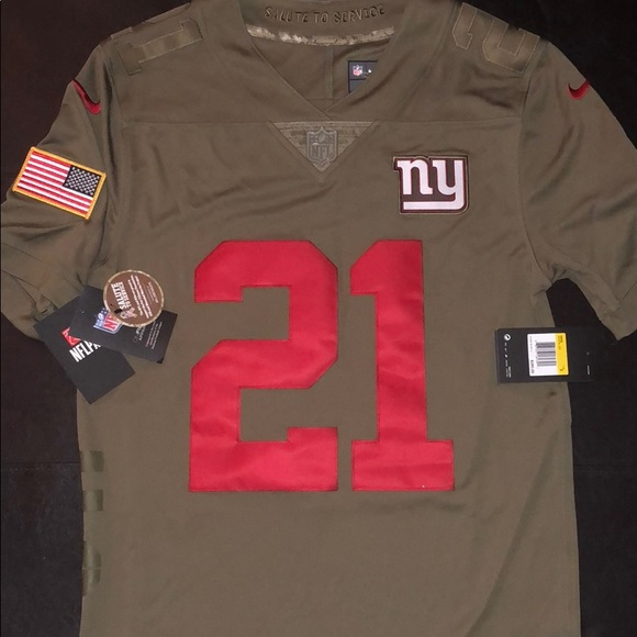 sneakers for cheap 7cd56 b4351 New New York Giants Landon Collins Service Jersey NWT